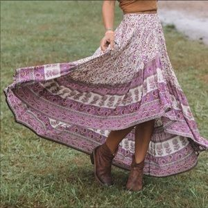 Spell & The Gypsy Castaway Skirt Lilac